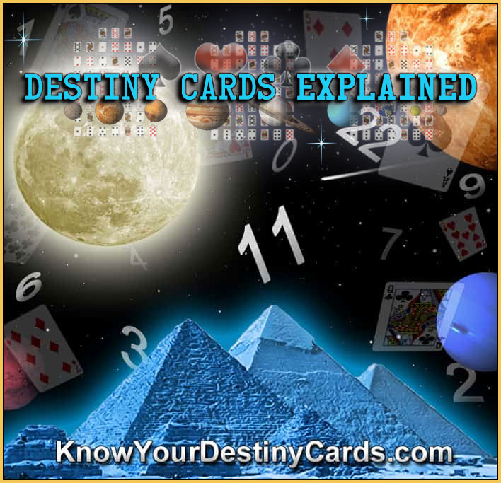 Birth Cards - KNOW YOUR DESTINY CARDS